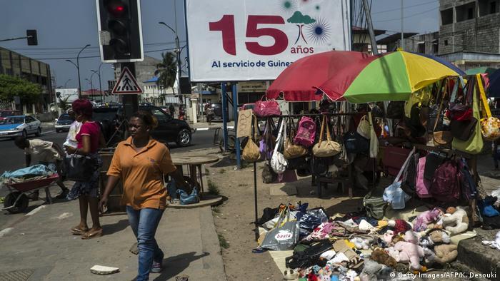 Äquatorialguinea Strassenszenen/Marktszenen
