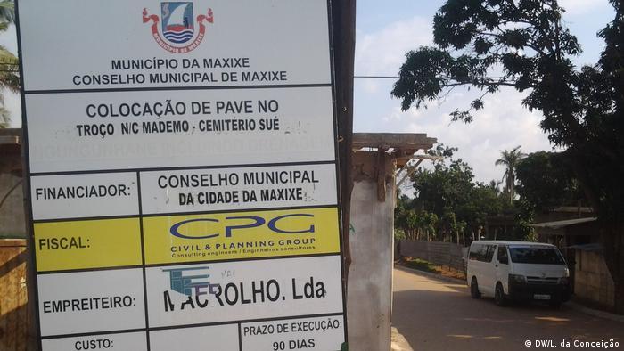 Mosambik Die Zahlen im Zusammenhang mit Regierungspartei Unternehmen geschaffen (DW/L. da Conceição)