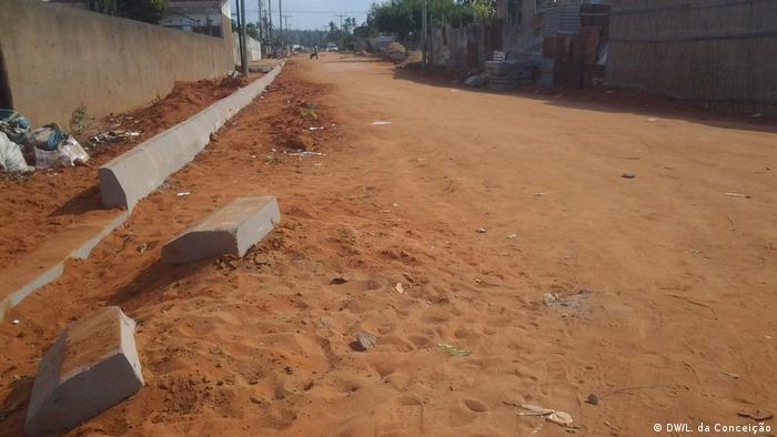 Mosambik Erweiterung der Chambone Bäckerei (DW/L. da Conceição)