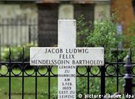 Mendelssohns Grabmal in Berlin