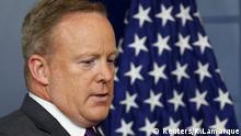 Sean Spicer tritt zurück USA
