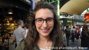 H αμερικανίδατουρίστρια Χέλεϊ δεν ανησυχεί για ένα νέο τρομοκρατικό χτύπημα στο Λονδίνο