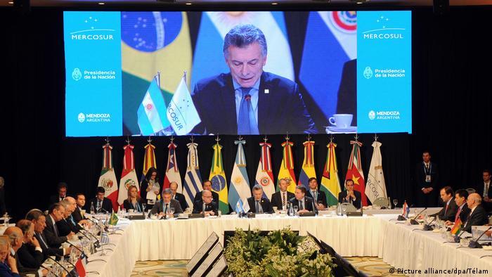 Mercosur ruft Venezuela zu Beilegung der politischen Krise auf (Picture alliance/dpa/Télam)