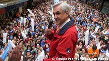 Chile - Kandidat Sebastian Piñera, Präsidentschaftswahl