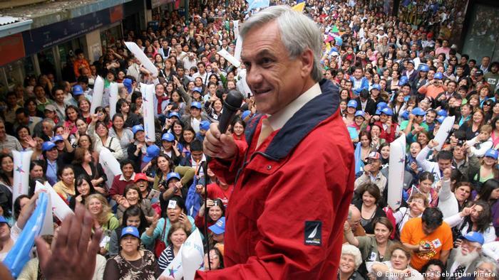Chile - Sebastian Piñera, ex-Präsident und Kandidat der rechtkonservativen Koalition Chile Avanza (Chile Avanza-Stiftung)