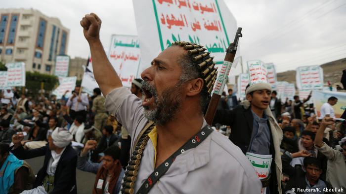 Al-Aqsa solidarity protest in Yemen