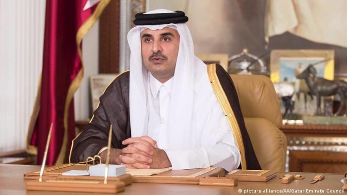 Katar - Scheich Tamim bin Hamad Al Thani (picture alliance/AA/Qatar Emirate Council)