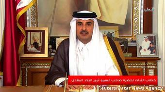Katar - Scheich Tamim bin Hamad Al Thani (Reuters/Qatar News Agency)