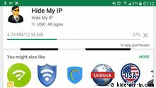 Screenshot VPN App - Hide my IP