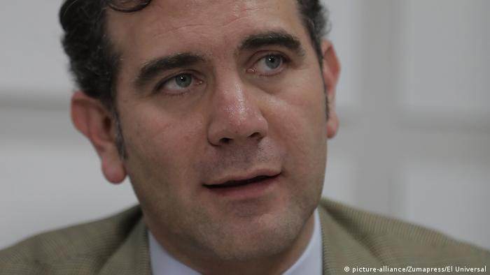 Mexiko Wahlen - PK Lorenzo Córdova (picture-alliance/Zumapress/El Universal)