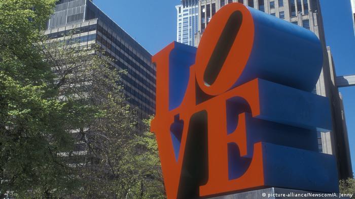 new york love statue