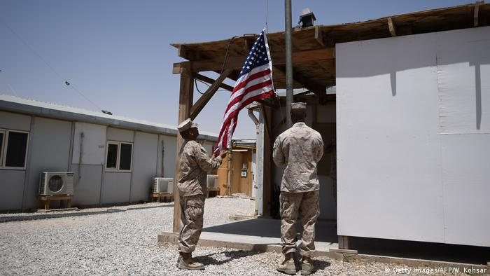 Afghanistan US-Marines in Helmand (Getty Images/AFP/W. Kohsar)
