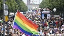 Parade zum Christopher Street Day in Berlin
