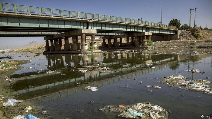 Iran Verschmutzung von Flüssen in Kermanshah (Irna)