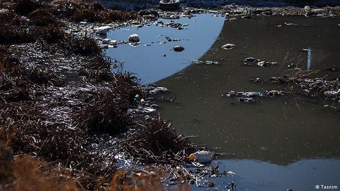 Iran Verschmutzung von Flüssen in Kermanshah (Tasnim)