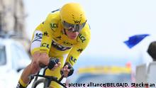 Frankreich Tour de France 2017 | Christopher Froome (picture alliance/BELGA/D. Stockman)