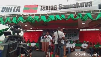 Angola Wahlkampf der Opposition UNITA in Luanda | Isaías Samakuva