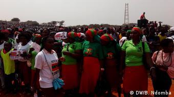 Angola Wahlkampf der Opposition UNITA in Luanda