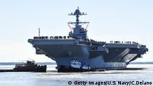 USA Trump stellt modernsten Flugzeugträger der Welt in Dienst   USS Gerald R. Ford