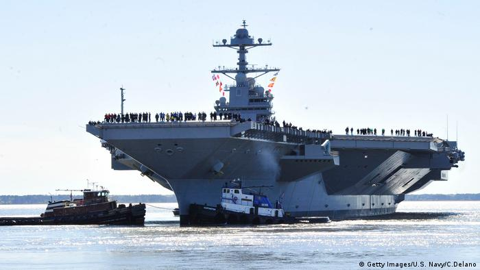 USS Gerald R. Ford (Getty Images/U.S. Navy/C.Delano)