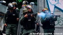 Venezuela - Unruhen (Getty Images/AFP/R. Schemidt)