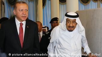 Saudi-Arabien Reccep Erdogan & König Salman bin Abdulaziz Al Saud
