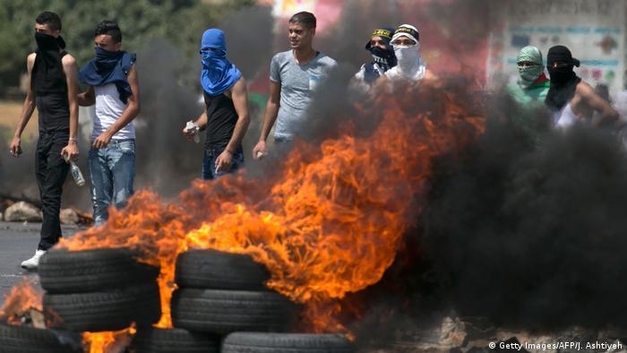 Westjordanland Ausschreitungen (Getty Images/AFP/J. Ashtiyeh)