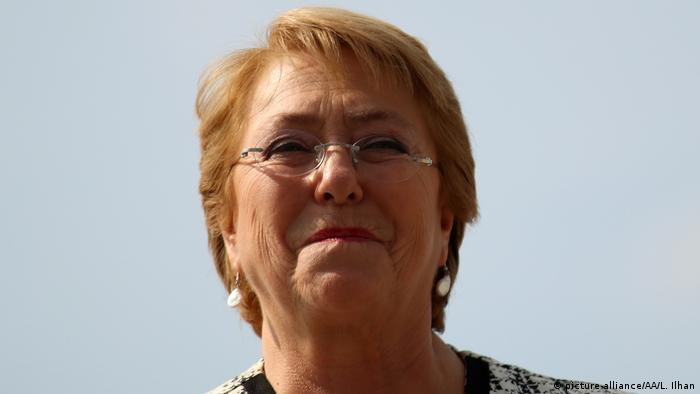 Kolumbien Michelle Bachelet in Cali