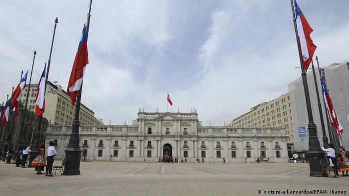 Chile Präsidentenpalast in Santiago