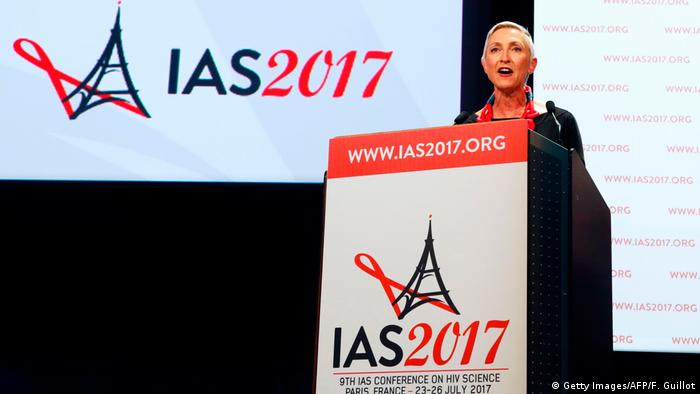 International AIDS Society President Linda-Gail Bekker