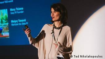 Η Μαρία Τσιάνα είναι η δημιουργός της εφαρμογής 3easyR για άτομα με προβλήματα στην ανάγνωση