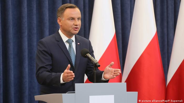 Polish President Andrzej Duda (picture alliance/Pap/P.Supernak)