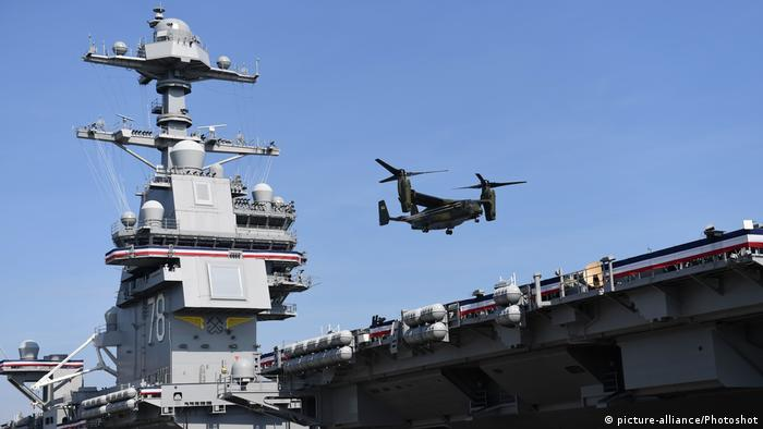 US Flugzeugträger - USS Gerald Ford (picture-alliance/Photoshot)