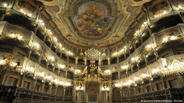 Margravial Opera House Bayreuth (picture alliance/dpa/D. Ebener)