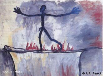 'Passage' (1963) by AR Penck, from the Ludwig Forum for International Art, Aachen