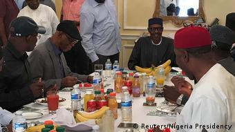 Nigeria Muhammadu Buhari in London (Reuters/Nigeria Presidency)
