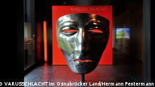 Model of mask found at Kalkriese (VARUSSCHLACHT im Osnabrücker Land/Hermann Pentermann)