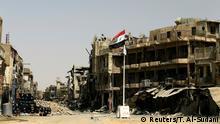 Irak Zerstörung in Mossul
