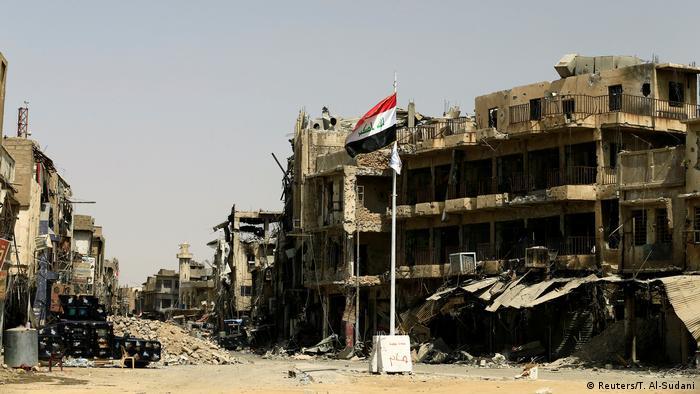 Irak Zerstörung in Mossul (Reuters/T. Al-Sudani)