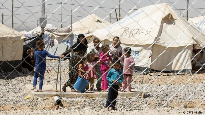 Irak - Lager Salamya für interne Flüchtlinge nähe Mossul (DW/S. Salim)