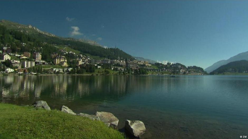 Beautiful vistas: St Moritz in the Summer