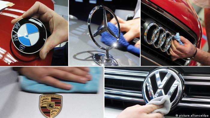 Deutschland Deutsche Autobauer unter Kartellverdach (picture alliance/dpa)