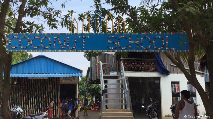 Coconut School in Cambodia