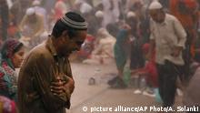 Indien - muslimischer Alltag in Ahmadabad - Ramadan (picture alliance/AP Photo/A. Solanki)