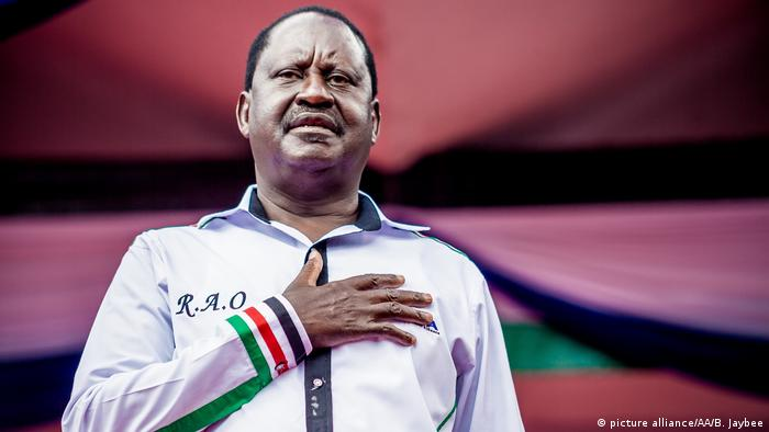 Wahlen in Kenia 2017 - Raila Odinga (picture alliance/AA/B. Jaybee)