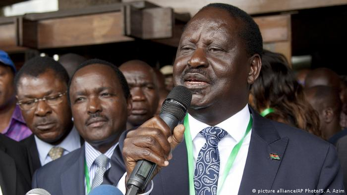 Wahlen in Kenia 2017 - Raila Odinga (picture alliance/AP Photo/S. A. Azim)