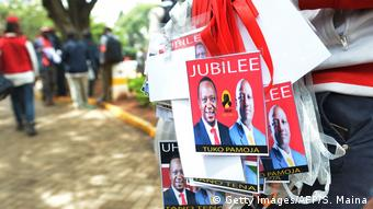 Wahlen in Kenia 2017 - Kampagne von Uhuru Kenyatta