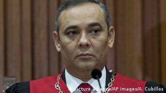 Venezuela Maikel Moreno (picture alliance/AP Images/A. Cubillos)