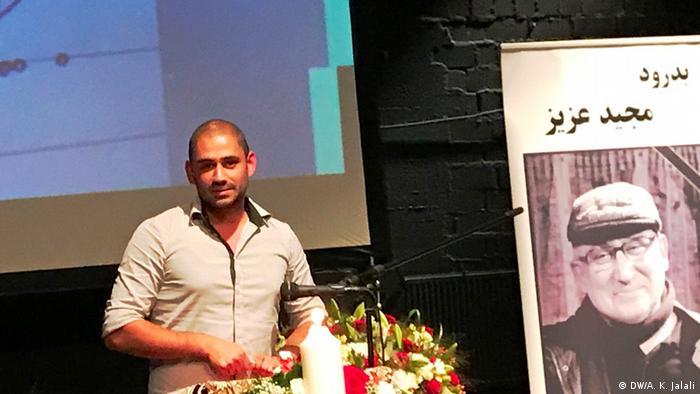 Deutschland Abschied iranischem Theaterregisseur und Autor Majid Fallahzadeh (DW/A. K. Jalali)