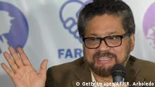 Kolumbien FARC Pressekonferenz in Bogota - Ivan Marquez